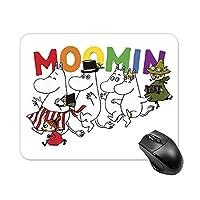 ムーミン マウスパッド 滑り止めラバーボトムマウスマット スタイリッシュな防水オフィスホームゲーミングマウスパッド 20*25cm