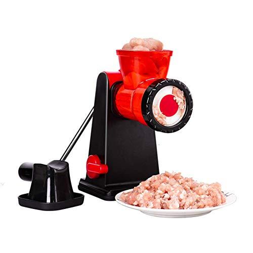 GYMAA Multifunktionale manuelle Fleischwolf Wurstmaschine Nudelmaschine Gemüsehacker Küchenwerkzeug