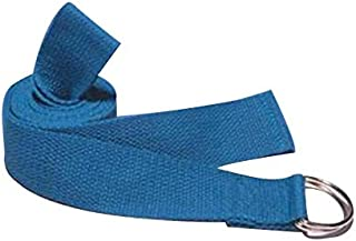 1.8M Yoga Stretch Strap 7 Colors Gym Cotton Sport Yoga Stretch Strap Blue