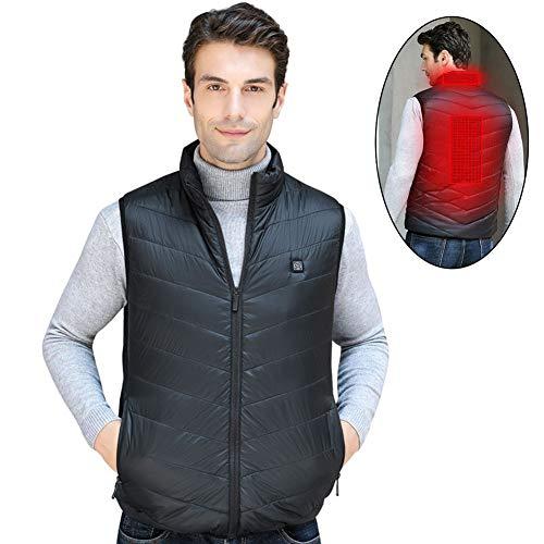 Blanket USB Beheizte Kuscheldecke Heizdecke Wiederaufladbare, für Rücken und Schultern Plüsch Wärme-Cape zum Umhängen, für Auto Office Home Travel - Maschinenwaschbar