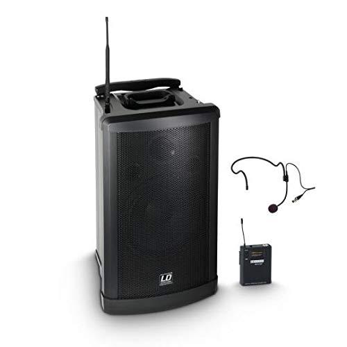 LD Systems Roadman 102 HS B 5 Mobiler PA Lautsprecher mit Headset