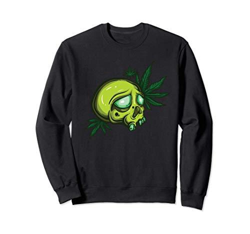 Marihuana regalo de marihuana para hombre y mujer Sudadera