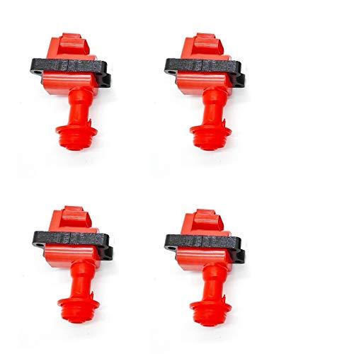 4PCS Performance Ignition Coils For Nissan Silvia S13 1.8L CA18DET CA18DE Engines/Pulsar NX 1.6L 1.8L L4 22433-59S11