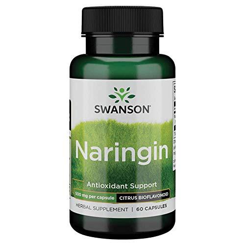 Swanson Naringin 500 Milligrams 60 Capsules