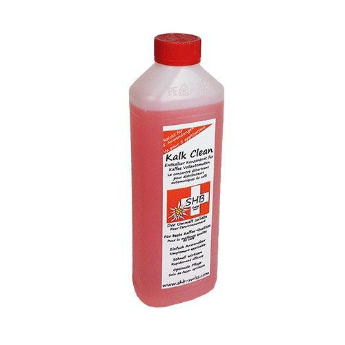 SHB Swiss Kalk Clean Spezial Entkalker 500 ml (bis zu 5 Entkalkungen) für Espresso und Kaffeevollautomaten, Kaffeemaschienen, Siebträger, Kapsel, Pad Maschinen auch für Wasserkocher Bad u.s.w. geeignet