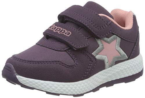 Kappa Unisex Kinder SCUTI Kids Sneaker, 2671 Purple/dk.rosé,35 EU