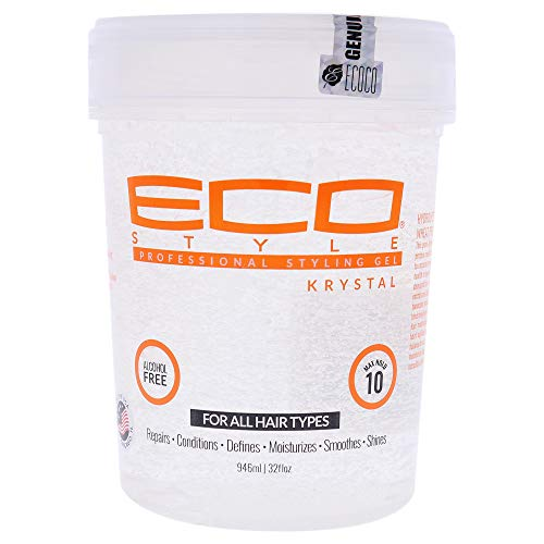 ECOCO Eco Styler Krystal Styling Gel, 32 Ounce (Pack of 2) (I0107747)