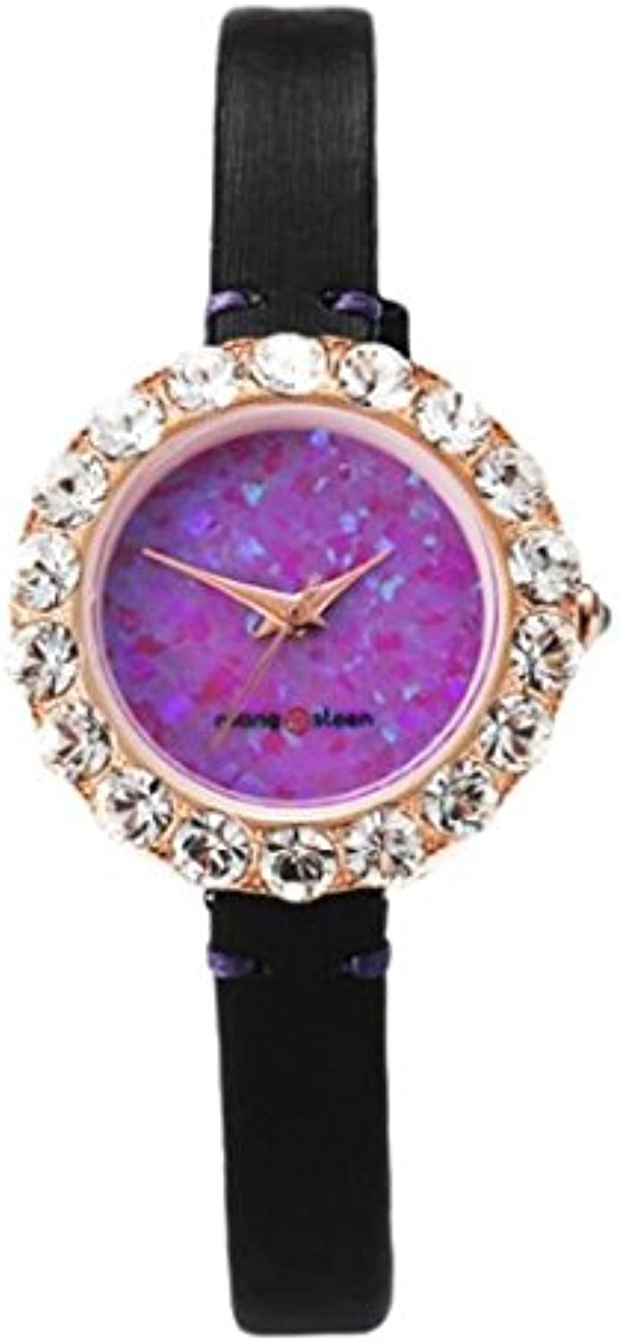 KONO(KONOB) Girls Women's Fashion Watch INFA pink gold (Purple)   pinkgold (Purple)  8809499041639, Other, Adjustable
