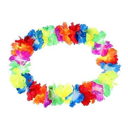 Decoraciones del Partido Flor Guirnalda Floral Beach Multicolores 1pc De La Guirnalda Hawaiana