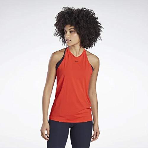 Reebok LM AC Bodypump Tank Camiseta, Mujer, insred, M