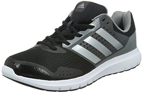 adidas Duramo 7 Herren Laufschuhe, Schwarz (Core Black/Silver Metallic/Ch Solid Grey), 48 EU