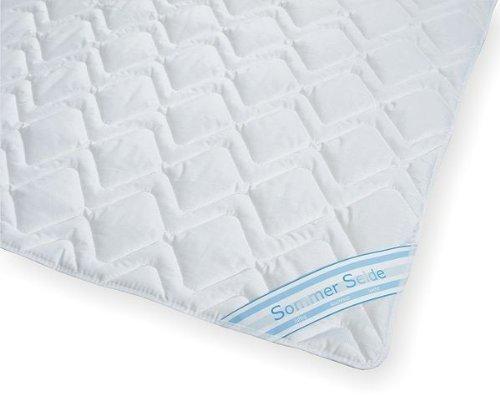 Garanta Sommerdecke Bettdecke Wildseide-Baumwolle 200x220 leicht, Füllung 60% Seide und 40% Baumwolle