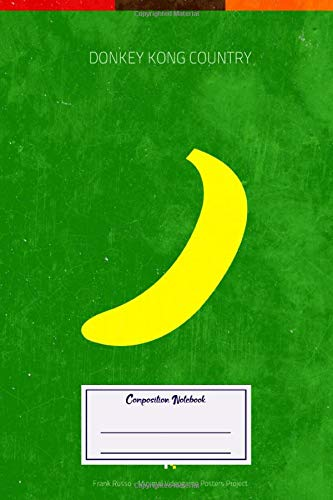 Composition Notebook: Gaming Donkey Kong Country Minimal Videogame Minimal Videogame Posters (Composition Notebook, Journal) (6 x 9)