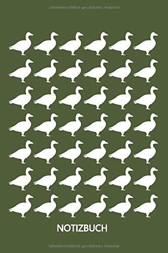 Notizbuch: Kleine Stockente I Enten füttern und halten I Entlein am Ententeich I Tierliebhaber