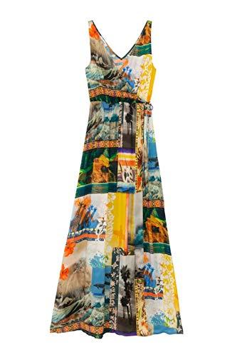 Desigual Vestido Hawai Multicolor para Mujer.
