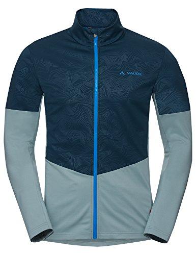 VAUDE Herren All Year Moab Shirt Jacke, Blue Elder, S