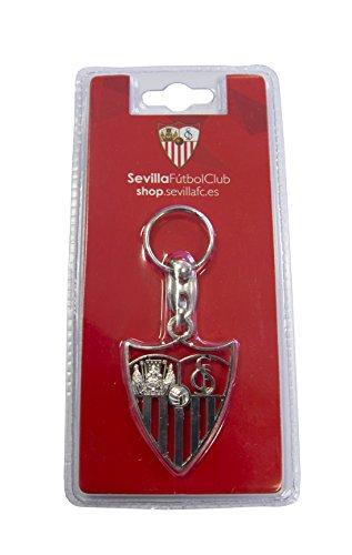 Sevilla CF 06LLA02-00 Llavero, Blanco/Rojo, Talla Única