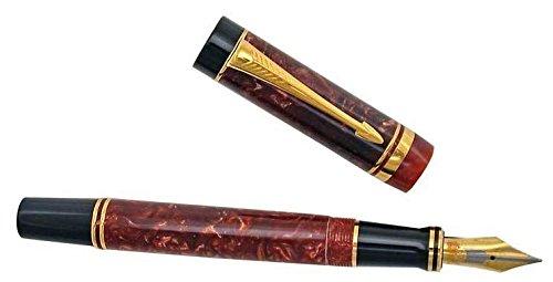 Parker Duofold Centennial estilográfica de colección rojo Burgundy
