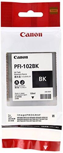 Canon 純正インクタンク フォトブラック PFI-102BK 0895B001