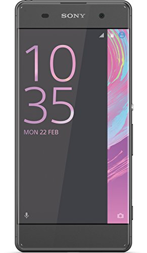 Sony Xperia XA Smartphone (5 Zoll (12,7 cm) Touch-Display, 16GB interner Speicher, Android 6.0) schwarz