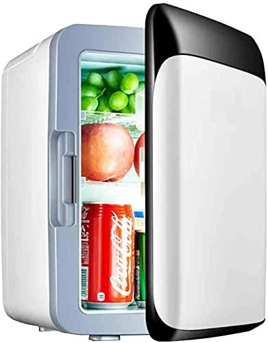 TANKKWEQ 10L Mini Car Tor Coche y Uso doméstico Enfriador portátil y Calentador Mini frigorífico congelador para Conducir, Viajar, Pescar