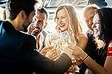 STEELSON Weinkühler Edelstahl mit Ständer [93cm hoch, 4L Volumen] Champagnerkühler Sektkühler Flaschenkühler für Party, Hochzeit, BBQ, Date-Night | Bar-Set im Edlen Design