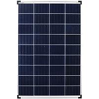 Panel solar policristalino de 100 W, ideal para caravana, jardín, barco, etc.