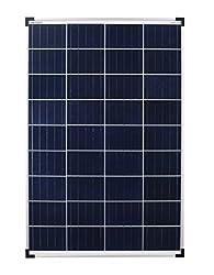 moreolar poly 100W polycrystalline solar panel 100Watt ideal for camper, garden house, boat ... (single pack)