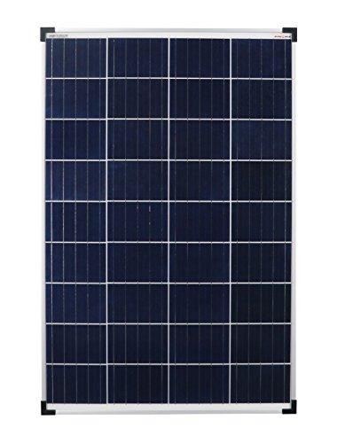 Solar 1200100 Disfruta del panel solar policristalino solar, 100 vatios 12V Poly 100 W Ideal para la caravana de la autocaravana