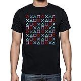 The Fan Tee Camiseta de NIÑOS Varias Videojuegos Gamer NES Consola PS 5-6 Años