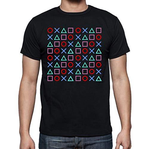 The Fan Tee Camiseta de Hombre Varias Videojuegos Gamer NES Consola PS...