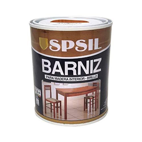 Pintura Barniz para Madera, Pintura Barniz de Rápido Secado para Superfícies Interiores (Madera Sapelly, 375 ML)