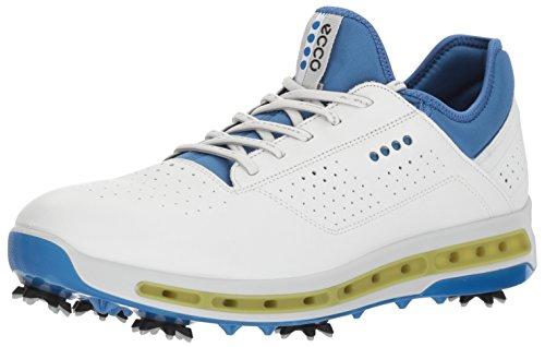 Ecco ECCO Herren Men's Golf COOL Golfschuhe, Weiß (White/Dynasty), 44.5/45 EU