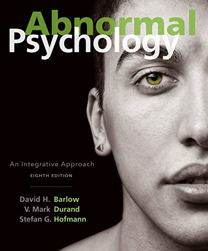 Bundle: Abnormal Psychology: An Integrative Approach, 8th + Casebook in Abnormal Psychology, 5th