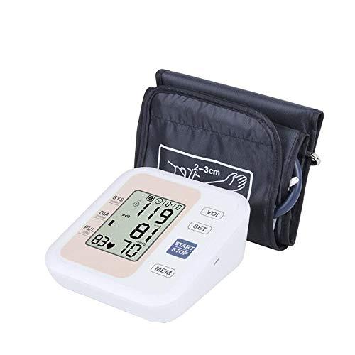 Digitale Oberarm Blutdruckmessgeräte, Vollautomatisches Elektronisches Arrhythmieerkennung, Sprache Funktion, Großer Manschette, LCD Display, 2 User Modus, 198 Speicher Messungen