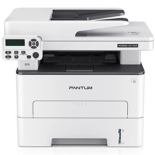 Pantum M29DW Multifunction (Print Copy Scan) All-in-One Monochrome Laser Printer with Wireless Duplex Two-Sided Printing, Networking & USB 2.0, 35PPM (Letter)