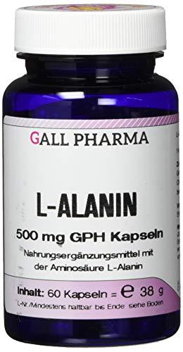 Gall Pharma L-Alanin 500 mg GPH Kapseln 60 Stück