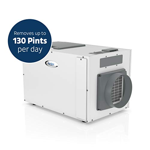 Aprilaire 1870 XL Pro Dehumidifier, 130 Pint Commercial Dehumidifier for Crawl Spaces, Basements, Whole Homes up to 7,200 sq. ft.