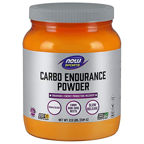 NOW Sports Nutrition, Carbo Endurance Powder (Isomaltulose), Endurance*/Energy Production*/Recovery*, 2.5-Pound