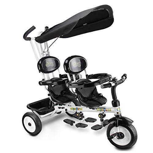 BABIFIS Niños 4 en 1 triciclos de niños Triciclos Dobles p
