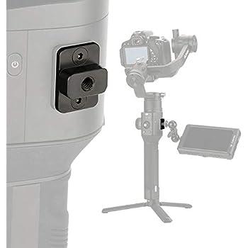 "Skyreat 1/4"" Aluminum-Alloy Monitor Holder Mount Compatible with DJI Ronin-S/Ronin SC Handheld Gimbal"