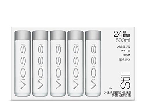 VOSS Artesian Still Water, 500 ml Plastic Bottles (Pack of 24)