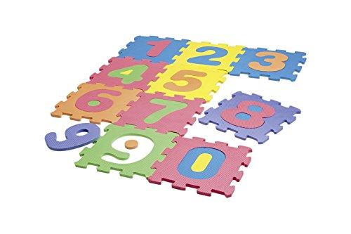 Happy People 63064 Zahlenpuzzlematte-63064 Zahlenpuzzlematte, Blau