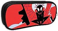 アベンジャーズ-スパイダーマン (184) ペンケース ボックス 大きいな容量 文房具 通用文具 収納 入学 筆箱 多機能ペン袋 鉛筆ケース 学生 中学生 高校生 男女兼用 軽く 軽量 筆入れ 小物入れ 化粧ポーチ ペン箱 通用文具 ふでいれ