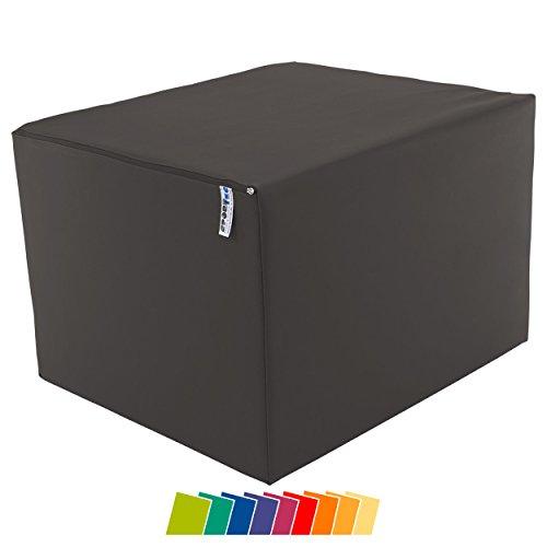 Sport-Tec Positurkissen Lagerungswürfel Bandscheibenwürfel mit festem Kern, 60x50x40 cm