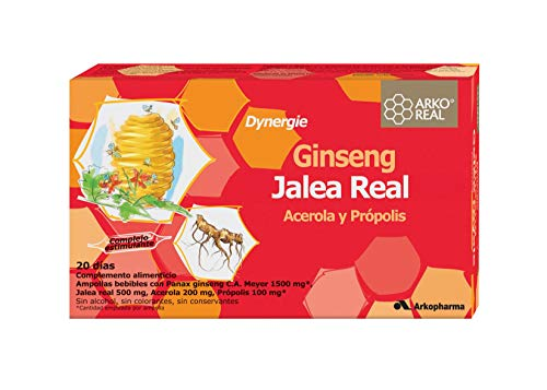 Arkopharma Dynergie Arko Jalea-Gins 20Amp 100 G