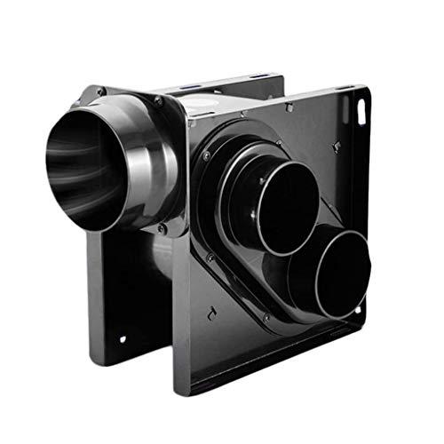 LANDUA Metallventilator , Sehr leiser Ventilator , Combo für, Home, 30W Badezimmer Abluftventilator , Abluft