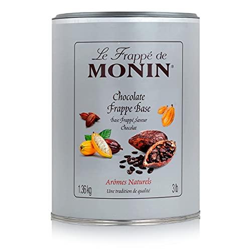 Monin Chokladfrappe-mix 1,36 kg badkar – smaksatt kaffepulver för kaffebarer