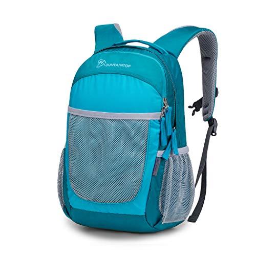 MOUNTAINTOP Kinderrucksack Kindergartenrucksack Kleiner Schultasche Mädchen Jungen für Kita Kindergarten Wanderungen, 24 x 16 x 36CM