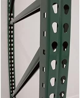 AK Industrial Teardrop Pallet Rack Frame - 48in.D x 120in.H, Model Number AK-UFI-120-48